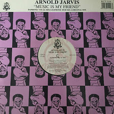 "Arnold Jarvis -  Music Is My Friend 12"" Vinyl Record"