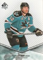 2011-12 SP Authentic Hockey #28 Patrick Marleau San Jose Sharks
