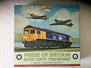 Bachmann 32-980K Collectors Club Cl. 66 66731 Captain Tom Pride of Britain - OO