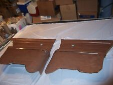 1964 Chevy Impala 2 Door Hard Top Rear Arm Rests and Upper Panels Original GM