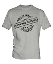 MADE IN NEWPORT PAGNELL MENS T-SHIRT GIFT CHRISTMAS BIRTHDAY 18TH 30TH 40TH 50TH