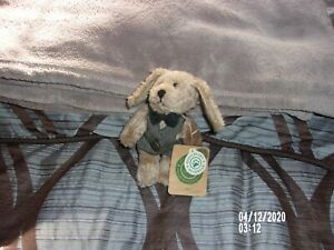 BOYDS BEARS AND FRIENDS INDY RABBIT 1999 WEST AND BOW TIE