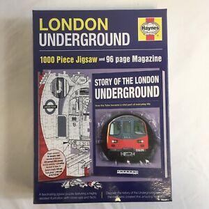 New & Sealed Haynes London Underground 1000 Piece Jigsaw Puzzle & Book gift idea