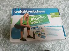 New sealed Weight Watchers Stability Ball Kit