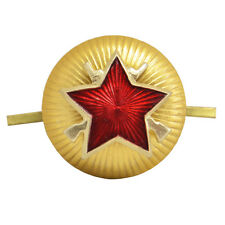 Russian Security Police Cap Badge - Soviet Army MP Beret Military Uniform Star