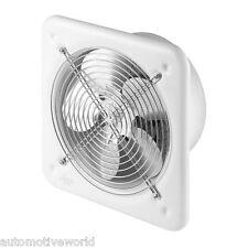 """Industrial Extractor Fan 200mm / 8 """" 240v 405m3/h Blanco comercial el flujo de aire wo200"""