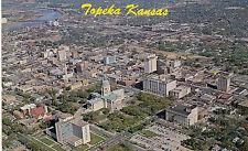 postcard USA   Kansas Air view of Topeka unposted