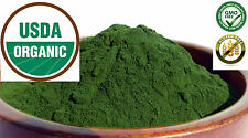 Pure Organic Wheatgrass JUICE Powder ~ Grown in the USA - No fillers ~ 1 lb Bag