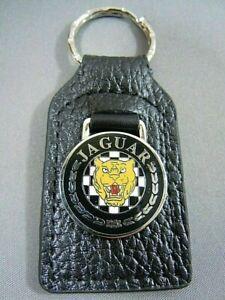 JAGUAR Leather Key Fob Key Ring