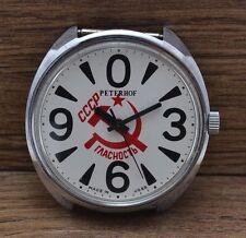 Pour hommes Vintage Soviétique Russe RAKETA GROSSE ZÉRO montre 2609HA RUSSIE