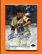 2013 Bowman Inception Prospects Clayton Blackburn Autograph RC Giants