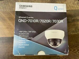 Samsung Wisened Q series QND-7030RN 4M network Dome Camera