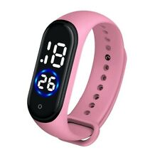 Men Women Unisex Casual Digital LED Sports Watch Silicone Band Wrist Watches