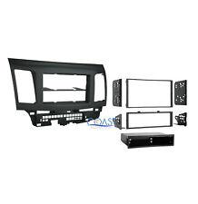 Car Stereo Radio Single Double Din Dash Kit for 2007-2013 Mitsubishi Lancer
