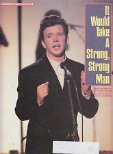 Se necesitarían un fuerte, hombre fuerte-Rick Astley - 1987 Partituras