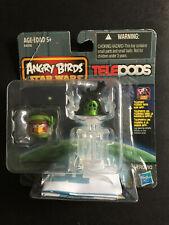 NEW ANGRY BIRDS STAR WARS TELEPODS Emperor Pig Luke Skywalker Bird 2-Pack RARE