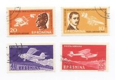um049 Romania 1st Flight 50th Anniversary Stamps (CTO) 1960