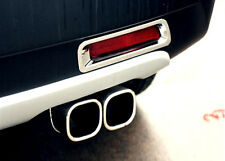 For Suzuki Vitara Escudo 2015 2016 Tail end pipe exhaust muffler tip trim