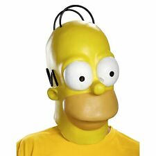 HOMER SIMPSON MASK face latex adult mens funny halloween costume