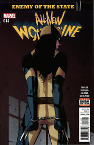 Marvel All New Wolverine Comic #14 2017 X-23 Arrested Bondage Cover NM