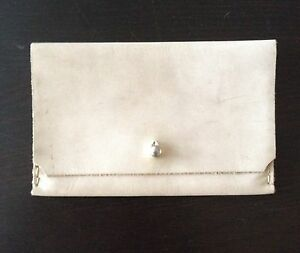 DRAKE & REN Handmade Doeskin Leather Envelope Wallet From LOVE ADORNED NWOT