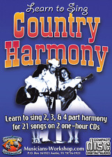 Learn to Sing Country Harmony How to Sing Course Singing Instruction
