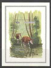 Zaire 1984 Okapi/Antelope 1v m/s (n21462)