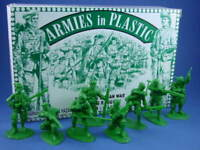 ARMIES IN PLASTIC 5549 ROGERS RANGERS FRENCH INDIAN REV WAR 16 Figures FREE SHIP