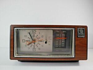 GE- General Electric- Model 7-4550D Vintage- AM/FM- Alarm Clock Radio- For Parts