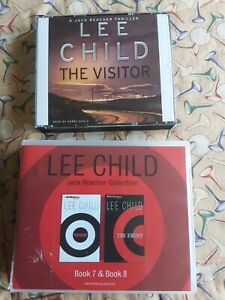 Lee Child. Audio Books Cd Abridged ...The Visitor / P ersauder / The ENEMY