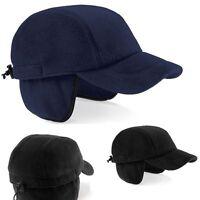 Caldo Pile Nero O Blu Everest Baseball Cappello Con Paraorecchie