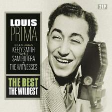 Louis Prima THE BEST THE WILDEST 180g GATEFOLD Remastered NEW VINYL PASSION 2 LP