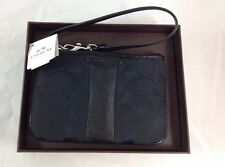 COACH BLACK WRISTLET - BRAND NEW WITH TAGS - VERY SMALL WRISTLET