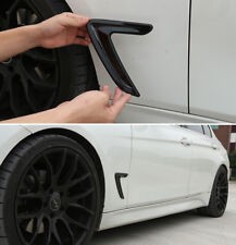 Hot!  Black Side Marker Fender Air wing Vent Trim Cover For BMW 3 series 20