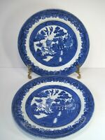 "Vintage Warranted Staffordshire W Adams & Co Tunstall England Dinner Plate 9.5"""