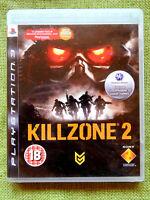 Killzone 2 (Sony PlayStation 3, 2009, PS3, Region Free, Game, Manual)