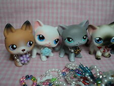 Littlest Pet Shop Handmade LPS Lot of 7 Necklaces Accessories In A Gift Bag