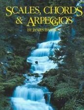 Bastien Scales, Chords & Arpeggios Piano Music Book - Brand New