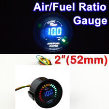"DIGITAL 2"" 52mm Car Smoke Len LED Digital Air/Fuel Ratio Gauge 20 LED"