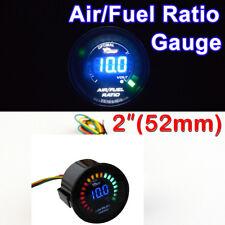 "DIGITAL 2"" 52mm Car Smoke Len LED Digital Air/Fuel Ratio Gauge 20 LED"
