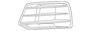 Genuine Audi Outer Grille 80A-807-679-D-RU6