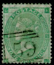 SG90, 1s green, FINE used. Cat £275. IL
