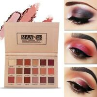 18 Colors Shimmer Eye Shadow Cosmetic Set Eyeshadow Palette Matte Glitter Makeup