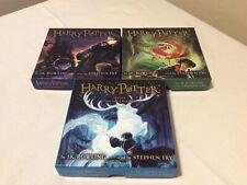 Harry Potter Audio Book Bundle Cd Stone Chamber And Prisoner Stephen Fry