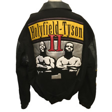 1997 Mike Tyson vs. Evander Holyfield II Ear Bite Fight Varsity Jacket Size XL