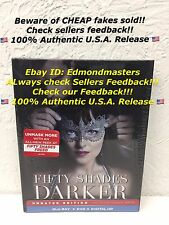 Fifty Shades Darker Blu-Ray + DVD + Digital HD, 2017 Collectible Digibook NEW!!