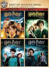 Harry Potter Years 1-4 (DVD, 2014, 4-Disc Set)