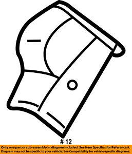 Jeep CHRYSLER OEM 00-06 Wrangler Convertible/soft Top-Seal Left 55176723AC