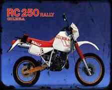 GILERA RC 250 Rally A4 Metal Sign moto antigua añejada De