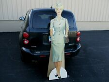 >Lady Soldier Us Army Dated1962 Vietnam Life-Size Diecut Vintage Poster Old Sign